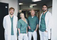 fyra läkare på rad