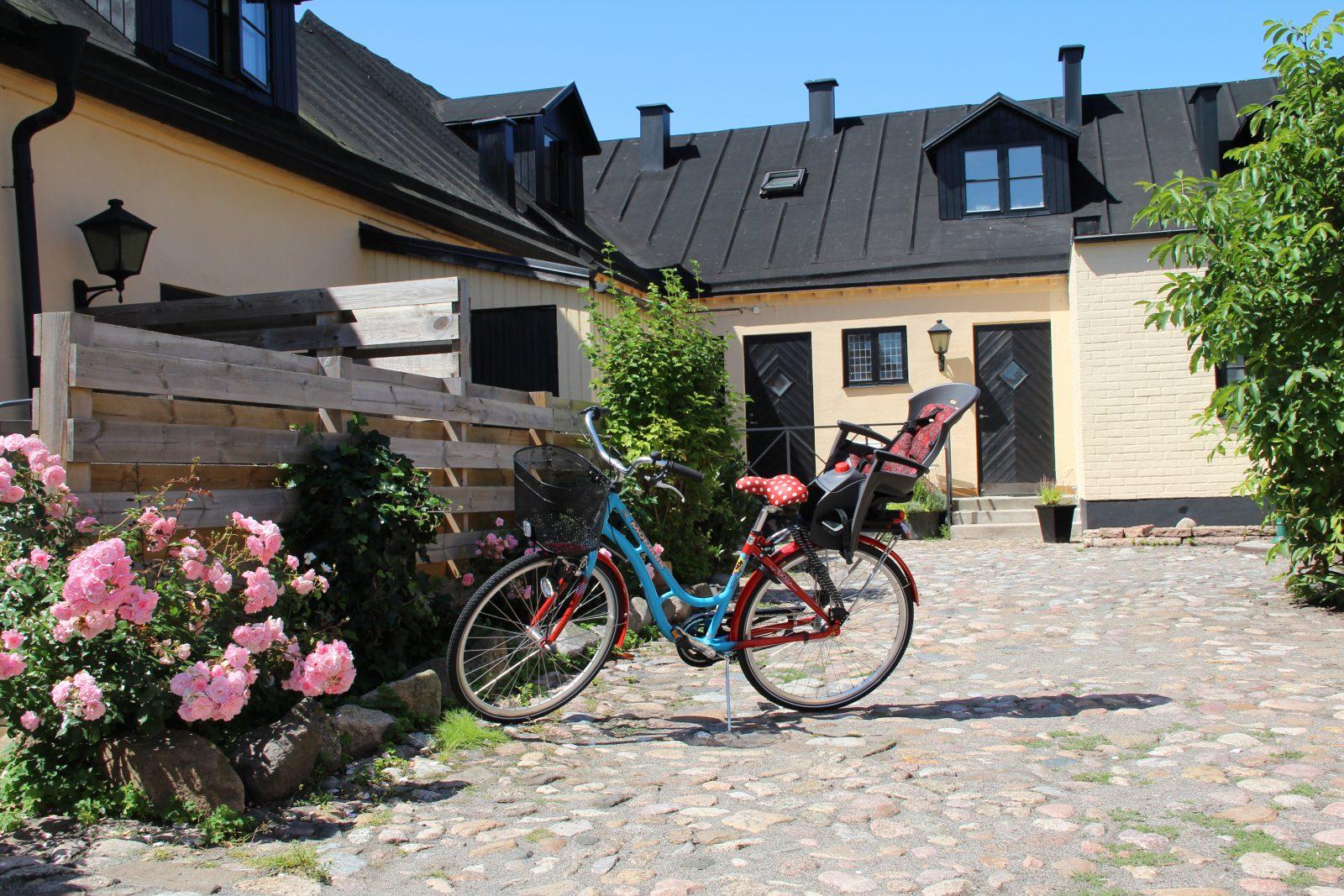 Medlemsförmån, fritidsboende. Bild från Ankaregården i Skanör.