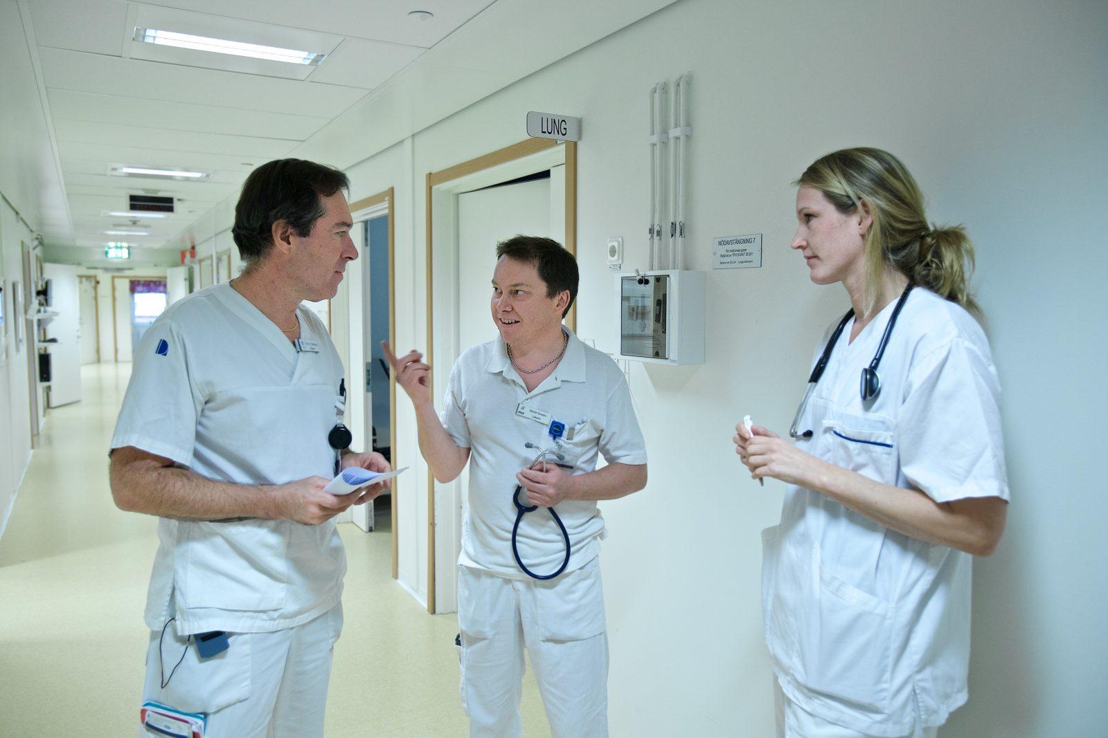 Lung- och allergimottagningen Flu Lasarett Pierre Sobrino Daniel Svedin Dinette Ruising – Aghterhuis