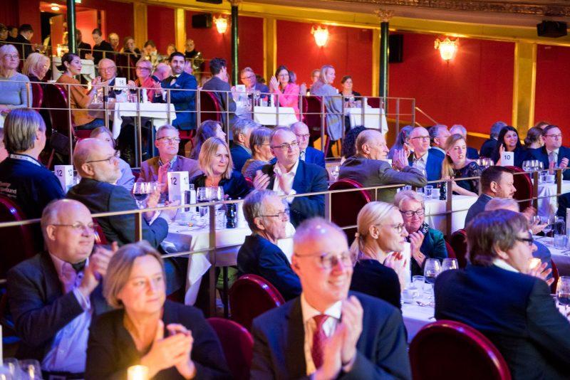 Middagsevent Vasateatern, från Fullmäktige 2018