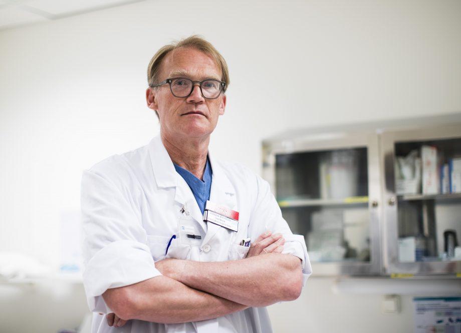 Johan Styrud, ordförande i Stockholms läkarförening