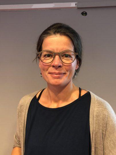 Anna warg intervjuas av chefsföreningen