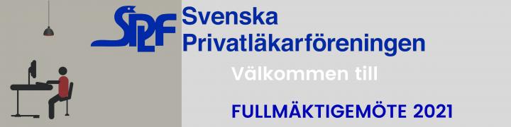 Banner för fullmäktigemöte splf 2021