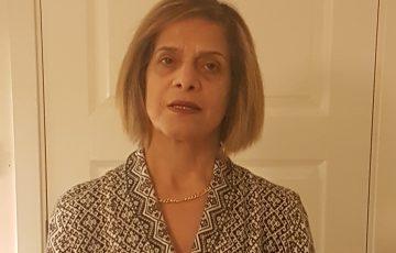 Shokoufeh Manouchehrpour, ordförande för Sjukhusläkarna Göteborg