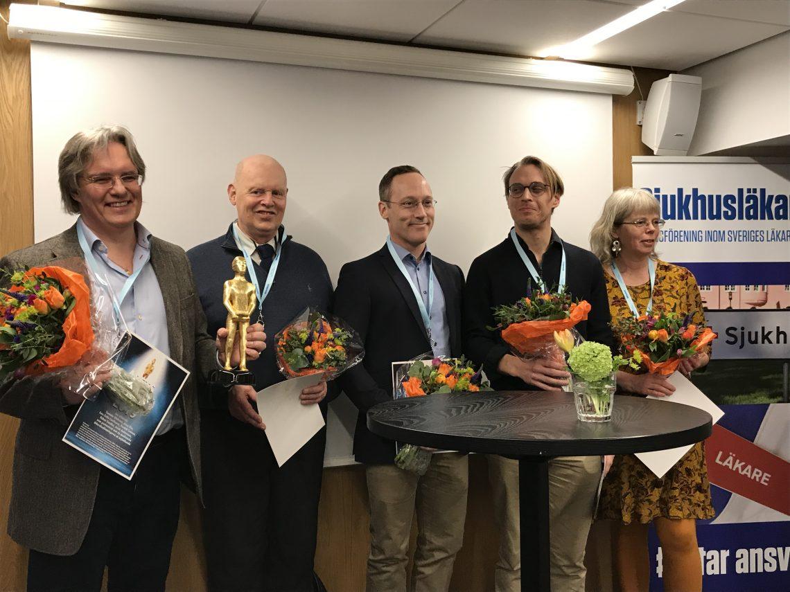 Prismottagarna till Årets Visslare 2019