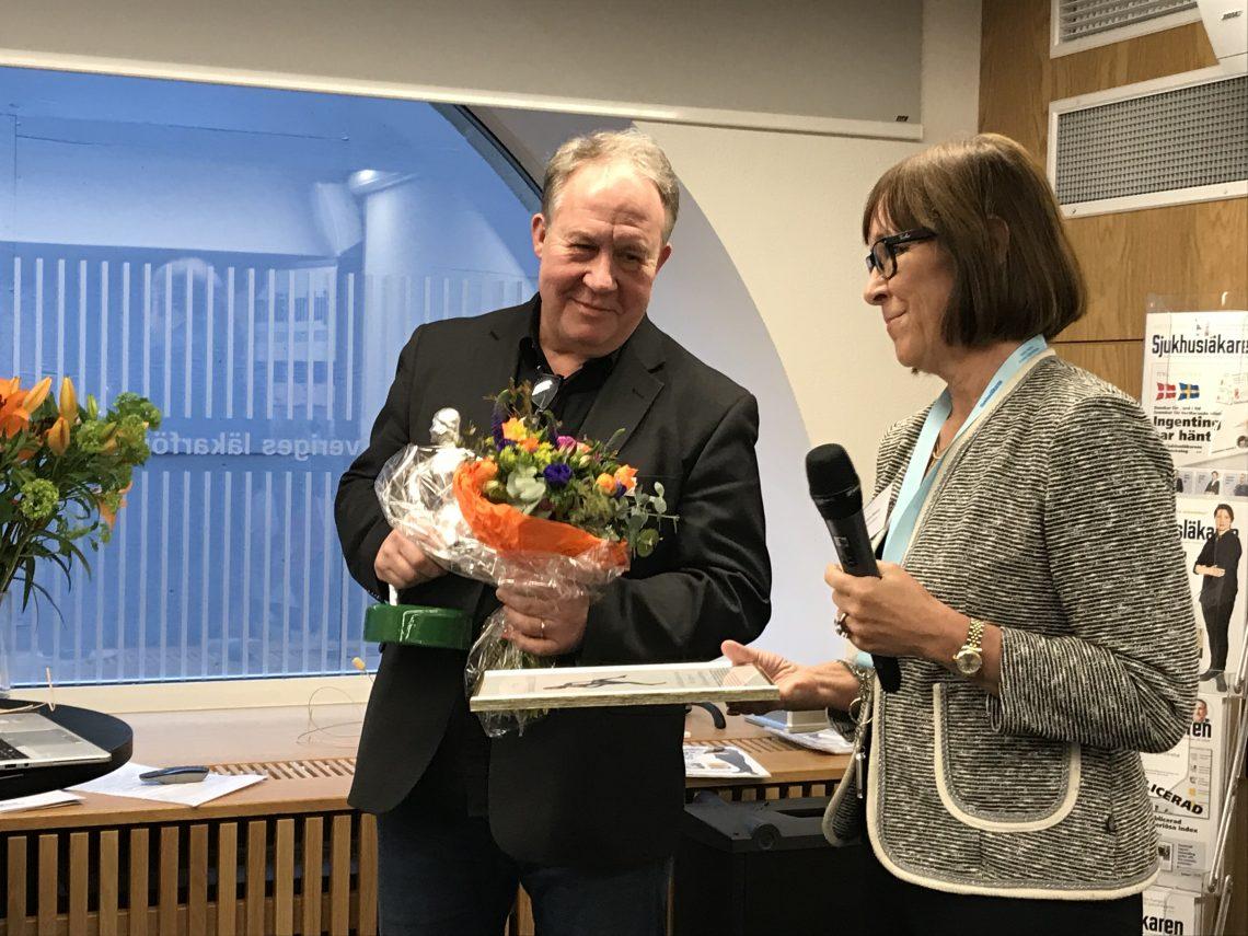 Peter Berggren, tidigare verksamhetschef vid Glesbygdsmedicinskt centrum och Karin Båtelson, ordförande Sjukhusläkarna.