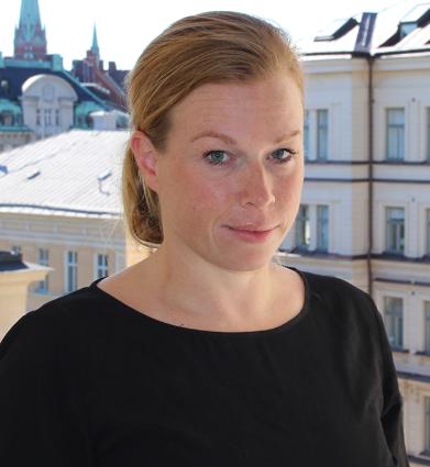 Elin Karlsson, andre vice ordförande Sjukhusläkarna