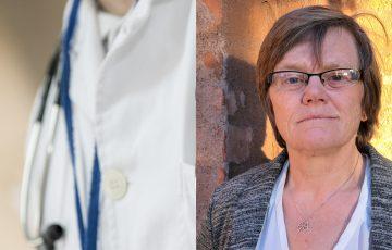 Läkarrock och professor Ann Hermansson