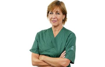 Karin Båtelson, ordförande Sjukhusläkarna och förste vice ordförande Läkarförbundet