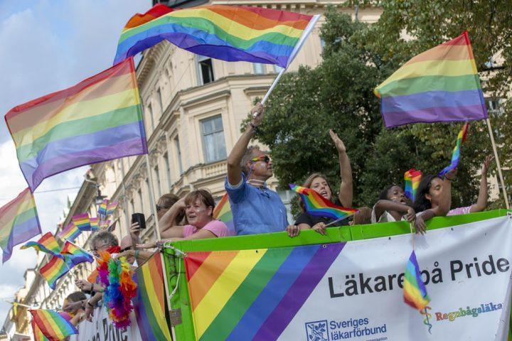 SLF Student på Stockholm Pride