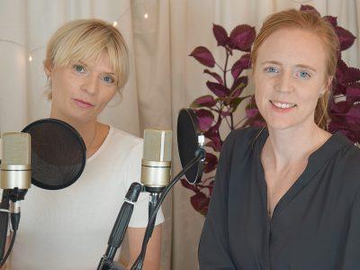Ann-Catrine Codan och Ida Björnstjerna