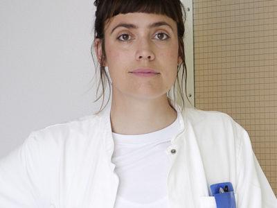 Isabella Kongstad, underläkare på Grönland.