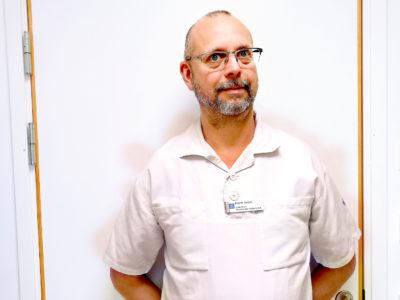 Fredrik Swartz, Lokalavdelningsordförande SYLF Östergötland
