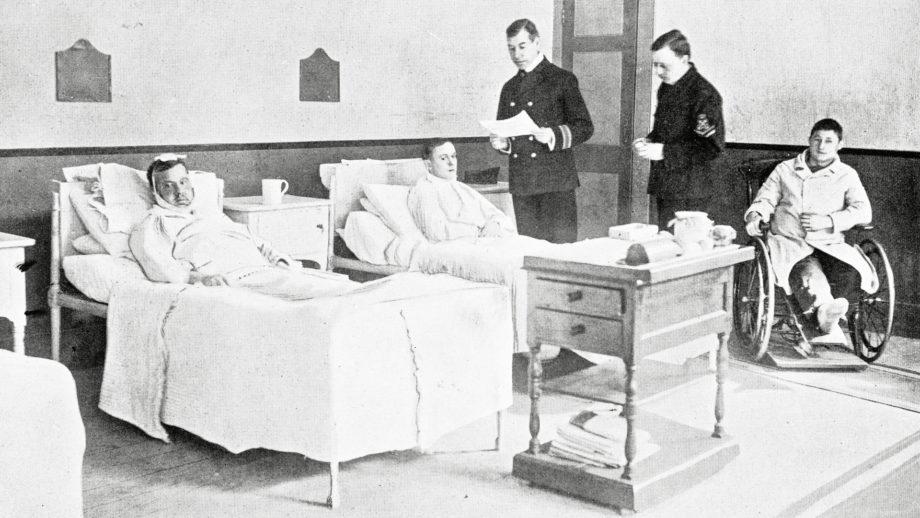 Gammalt sjukhus