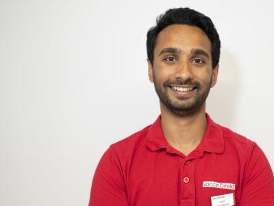 Arun Das på VaccinDirekt.