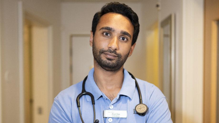 Arun Das, Varbergs Sjukhus.