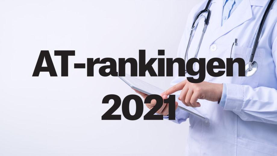 AT-rankingen 2021